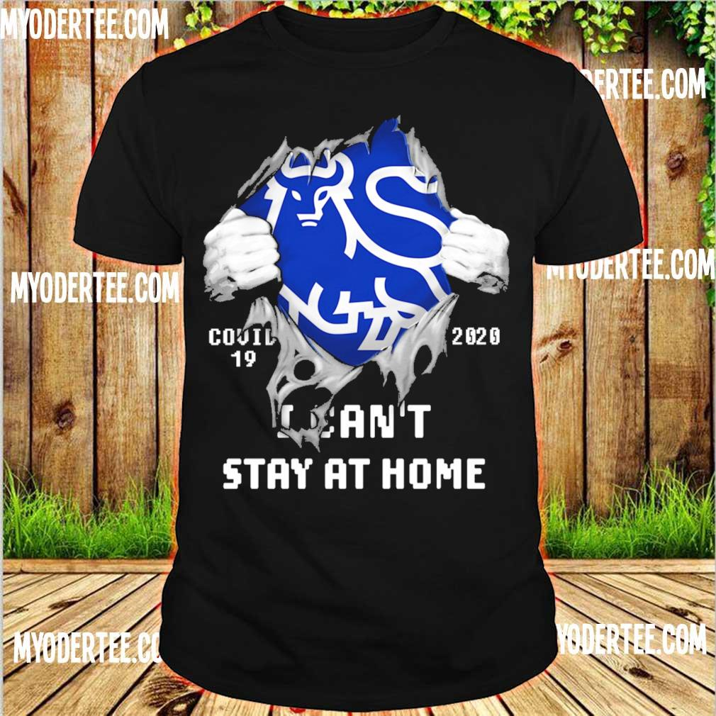 Blood inside me Merrill covid-19 2020 i can't stay at home shirt