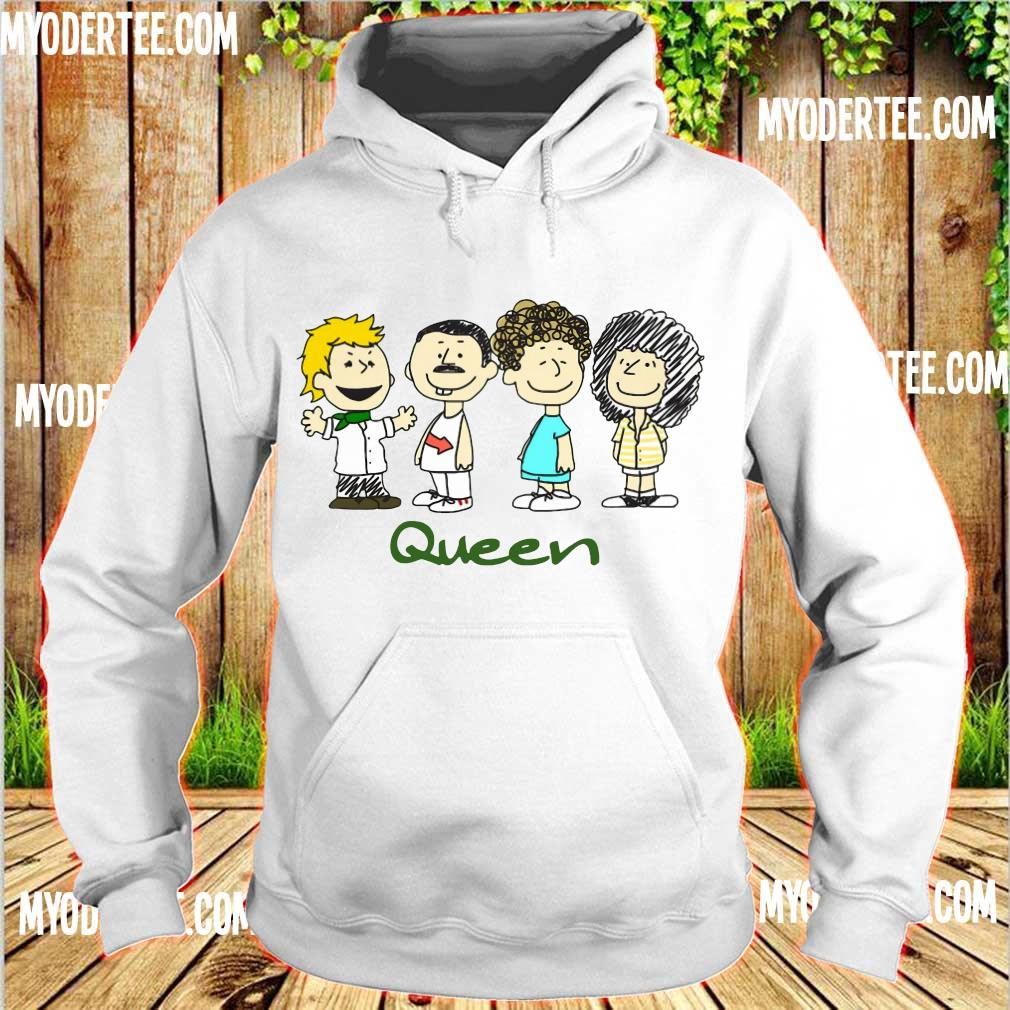 Nice The peanuts characters queen s hoodie