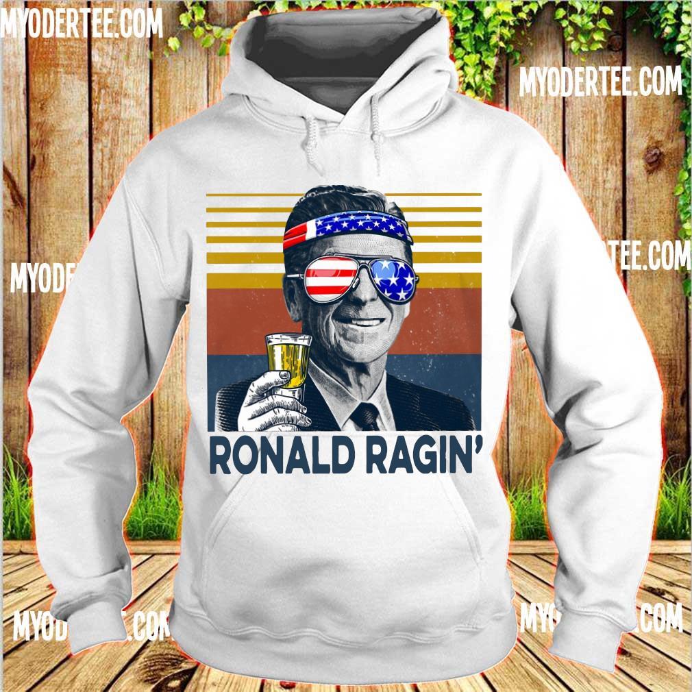 Ronald Ragin drink beer happy the 4th of july vintage s hoodie