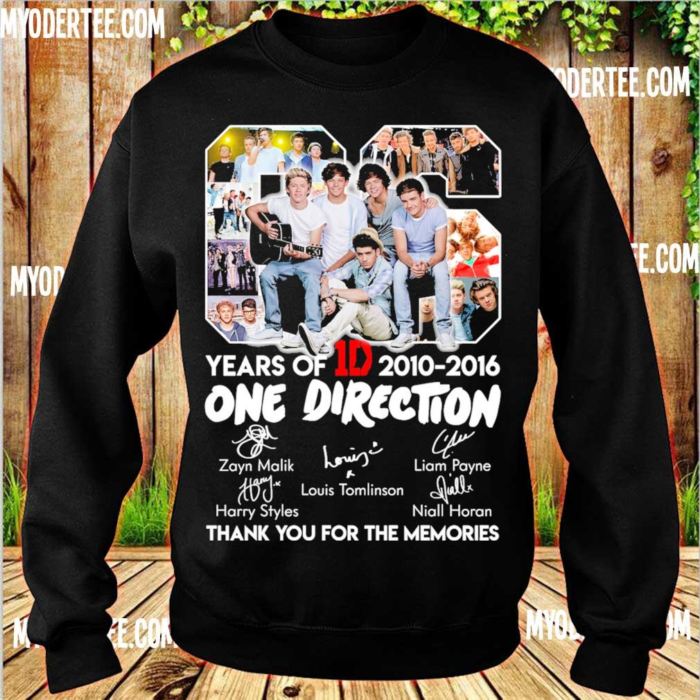 06 Years Of One Direction 1D 2010 2016 s sweater