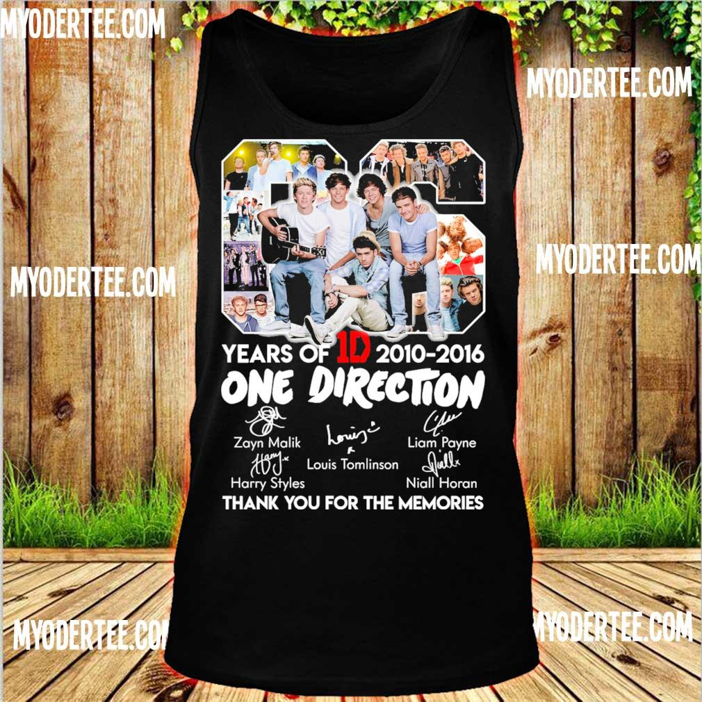 06 Years Of One Direction 1D 2010 2016 s tank top