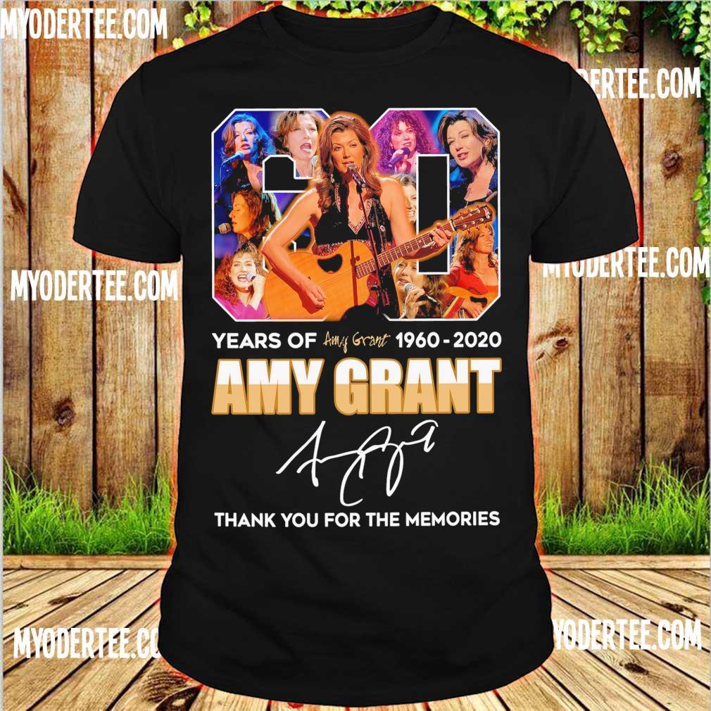 6o year of 1960 2020 Amy Grant signature shirt