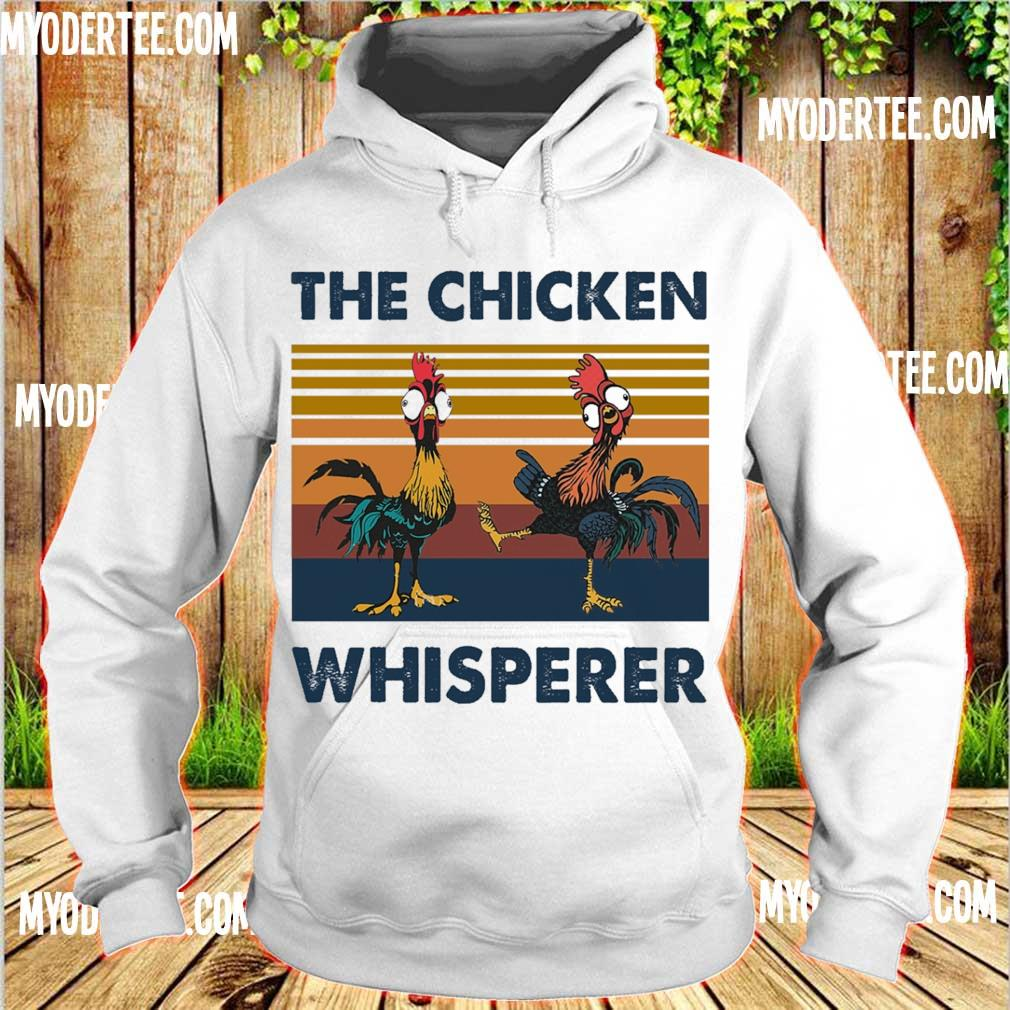 Hei Hei the Chicken whisperer vintage s hoodie