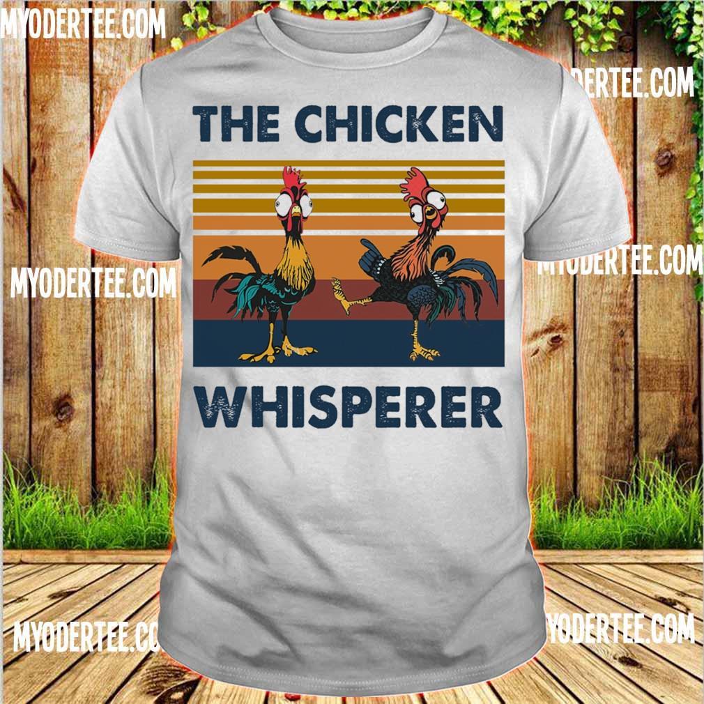 Hei Hei the Chicken whisperer vintage shirt