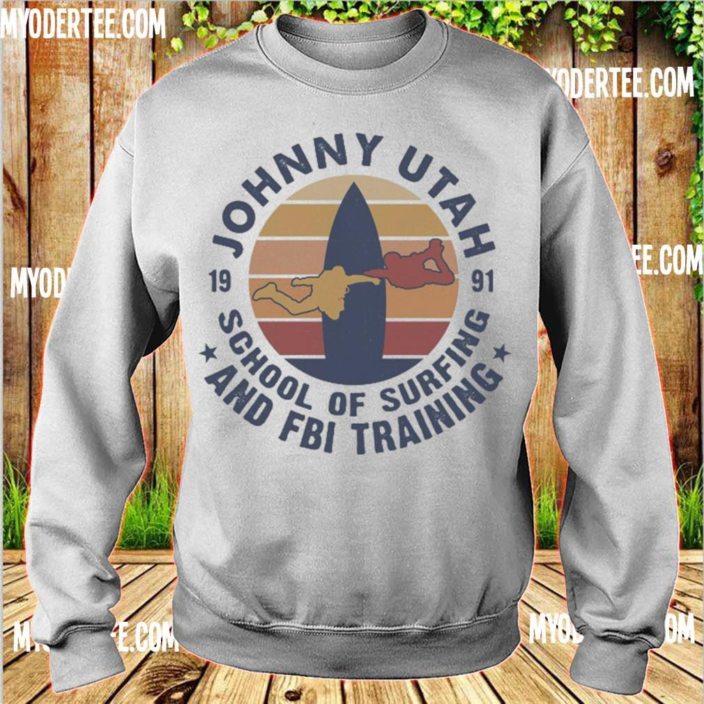 Johnny utah 1991 school of surfing and FBI training vintage s sweater