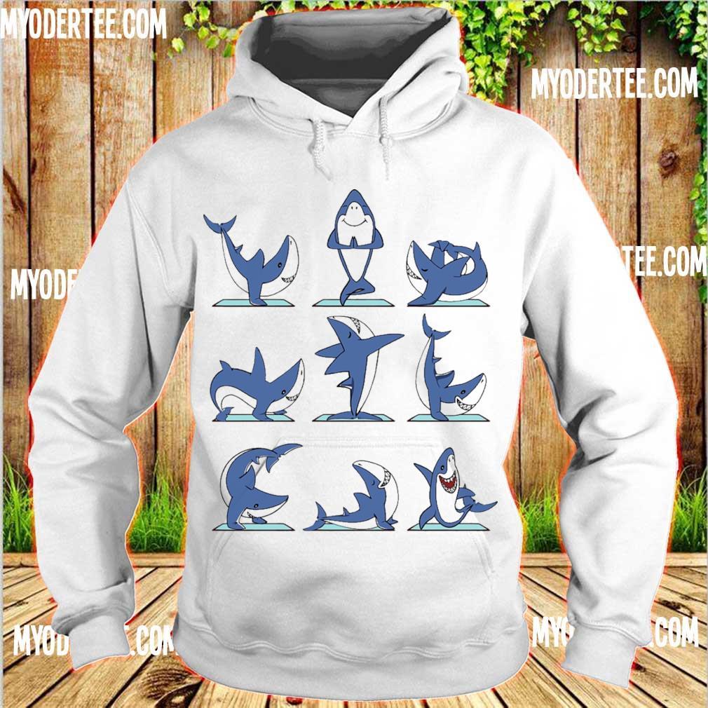 Shark yoga s hoodie