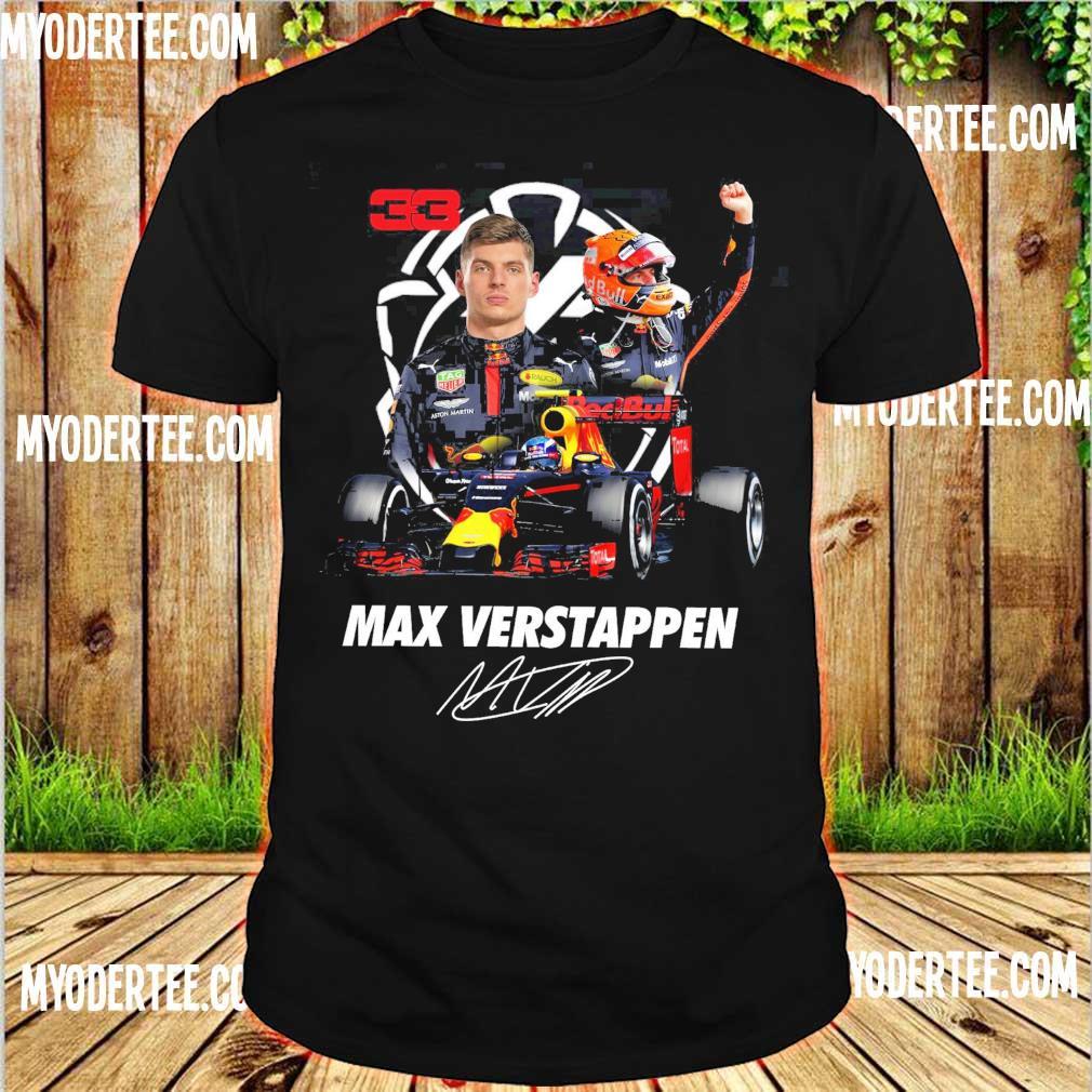 33 Red Bull Max Verstappen signature shirt