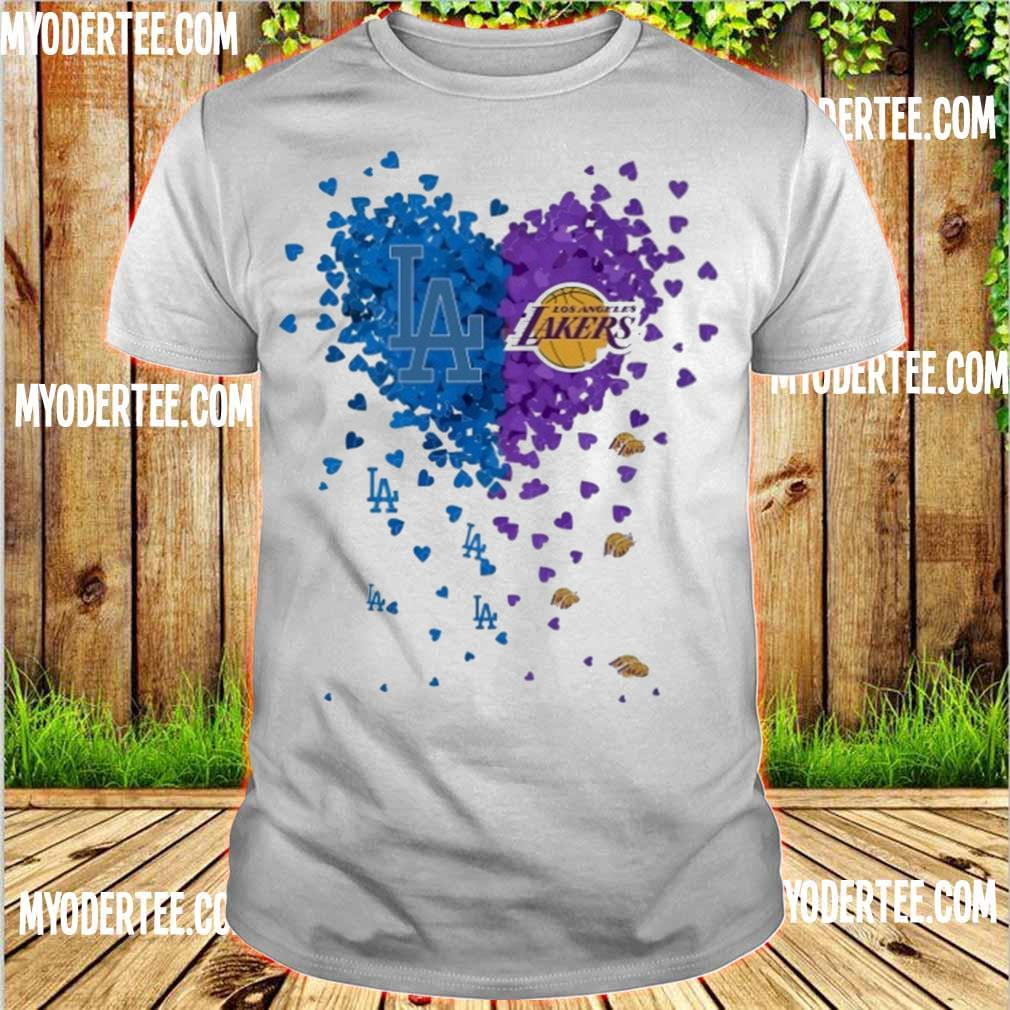 Heart Los Angeles Lakers shirt