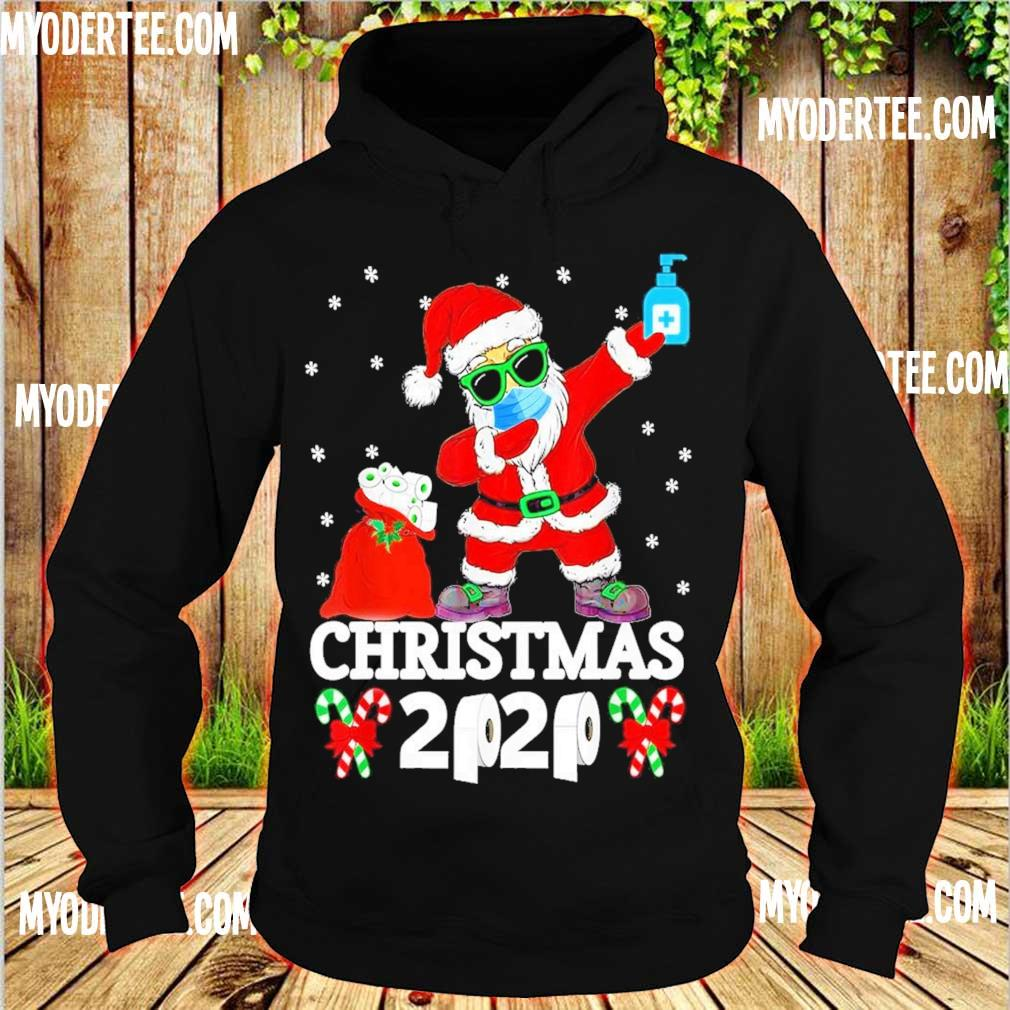 Santa Claus face mask toilet Christmas 2020 s hoodie