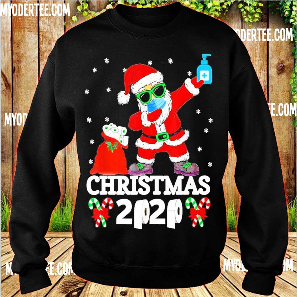 Santa Claus face mask toilet Christmas 2020 s sweater