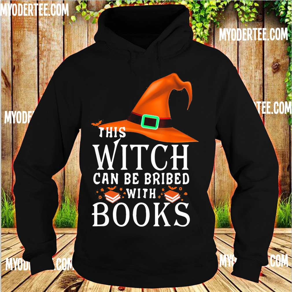 This Witch can be bribed with Books s hoodie