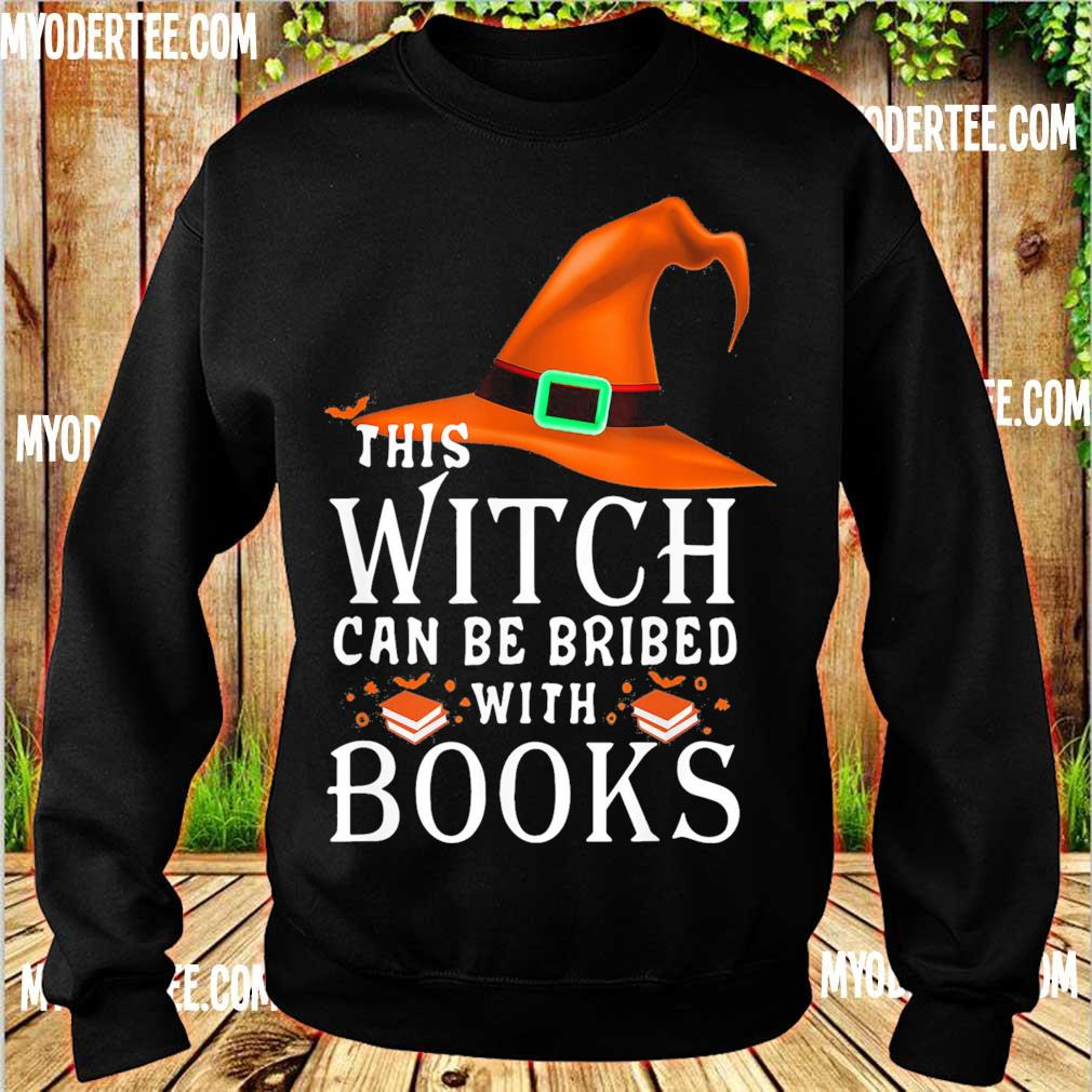 This Witch can be bribed with Books s sweater