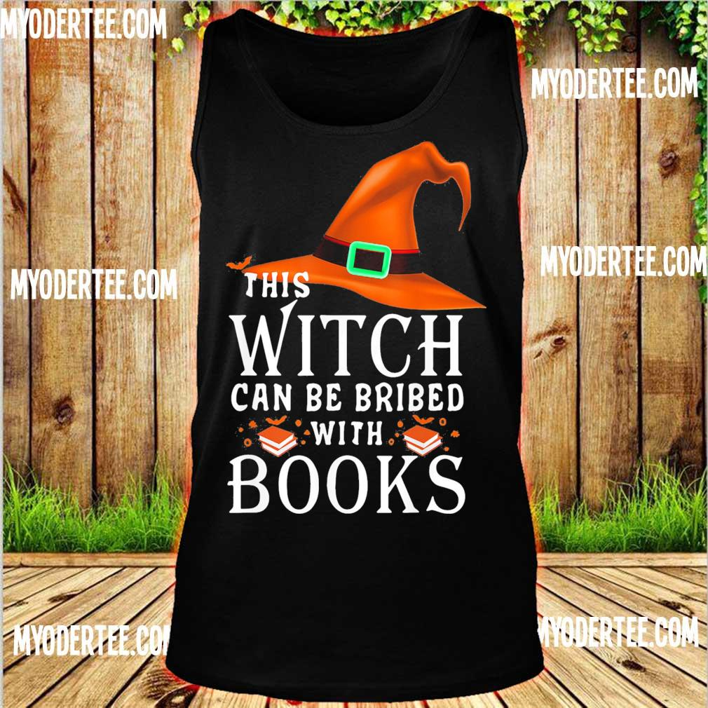 This Witch can be bribed with Books s tank top