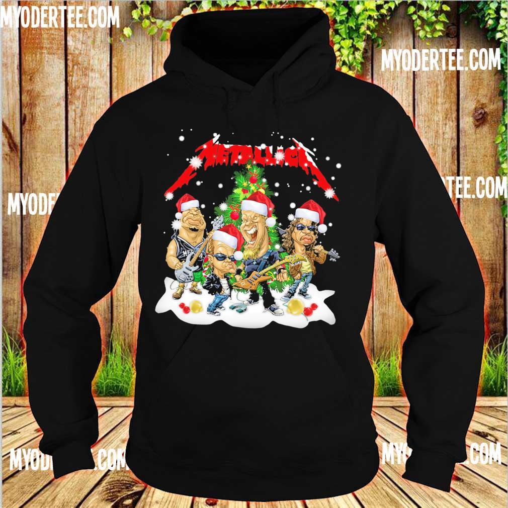Official Santa Metallica Christmas s hoodie