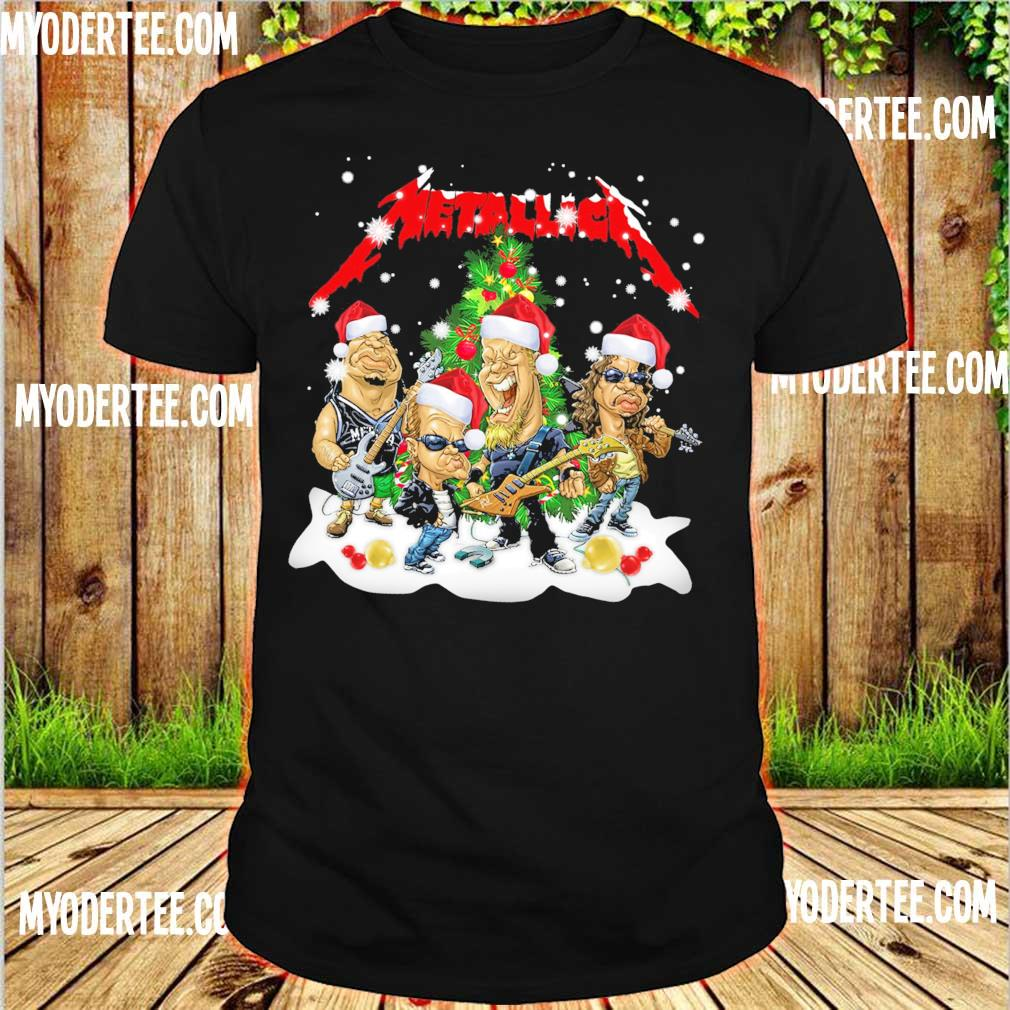 Official Santa Metallica Christmas shirt