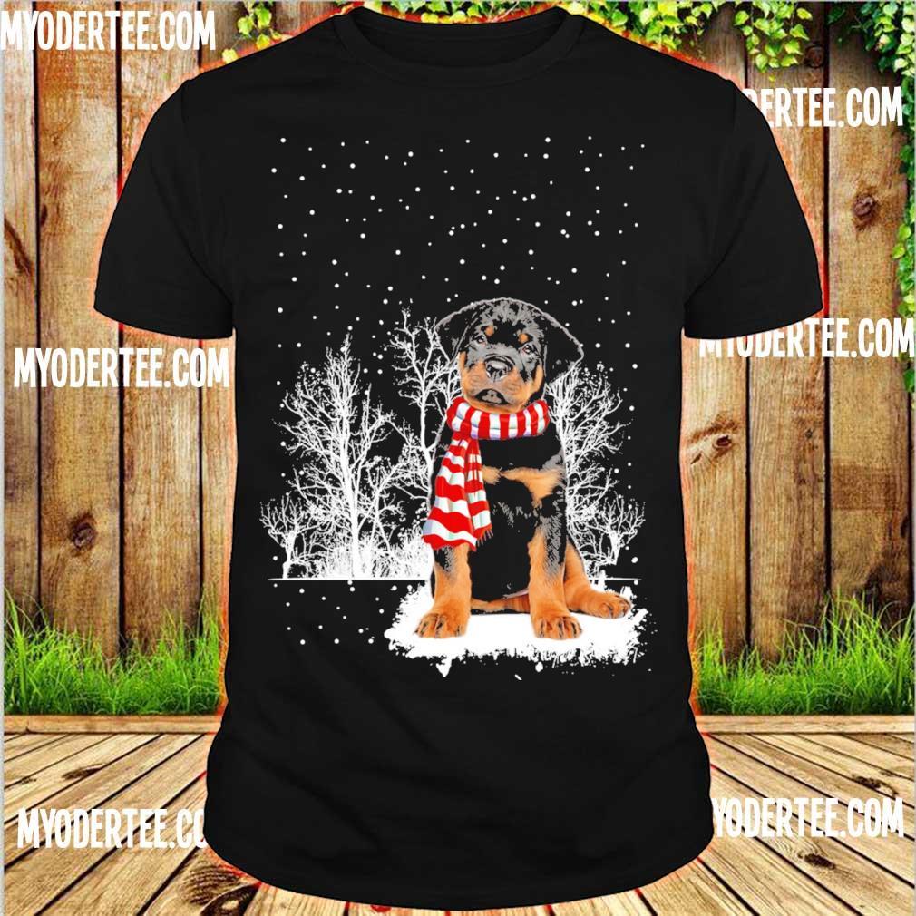 Rottweiler carf Christmas shirt