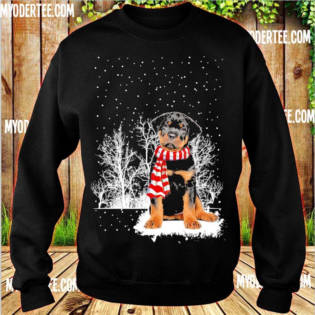 Rottweiler carf Christmas s sweater
